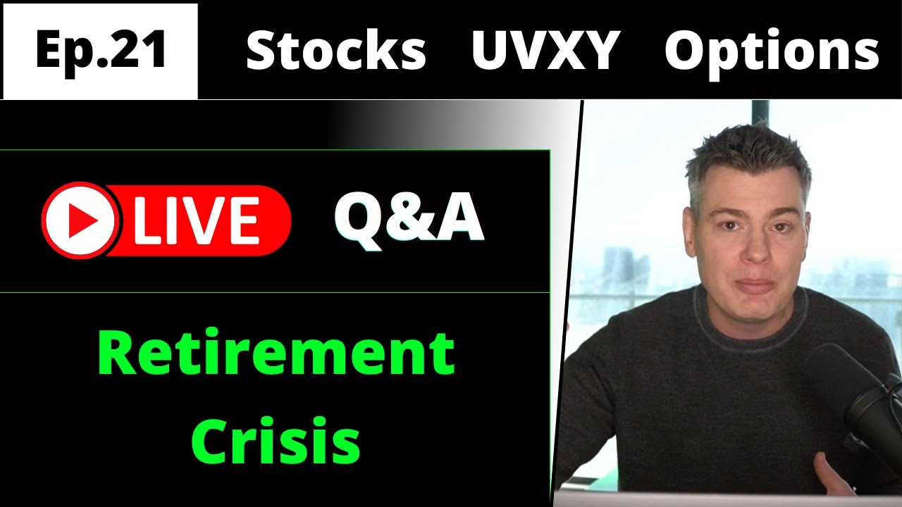 VTS Livestream #21)  Future Retirement Crisis?  What if the S&P is Flat for 20 years?