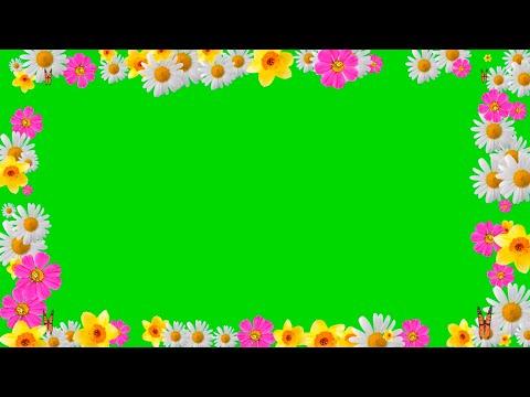 Рамки для видео/ БЕСПЛАТНЫЕ крутые футажи  на зелёном фоне!