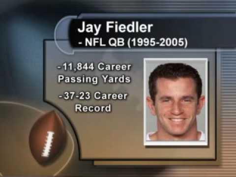 JOCK SOUP - NFL QB Jay Fiedler Coughs Up  Furball of Football  Information