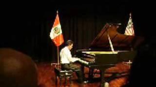 Claude Debussy, Arabesca II Allegretto  Scherzando