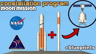Constellation program in SPACEFLIGHT SIMULATOR