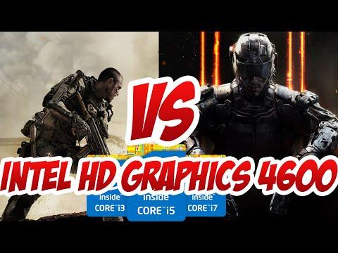 Intel HD Graphics 4600 PUEDE CORRER EL Call of Duty: Advanced Warfare y Black ops 3 ?
