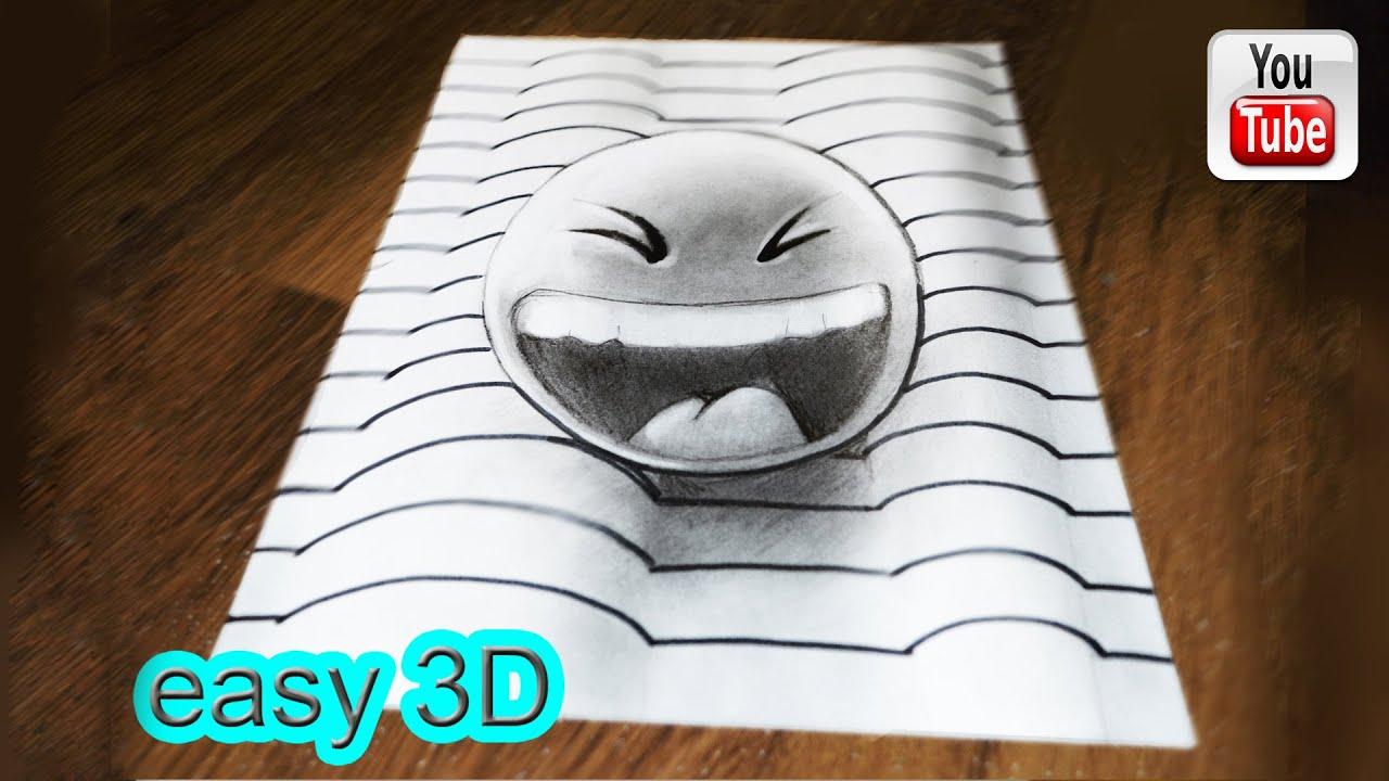 3д картинки карандашом на бумаге для начинающих 6
