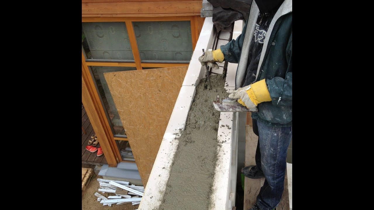 How To Install A Lintel Aerated Concrete Walls Youtube