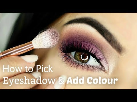 Beginners Eye Makeup Tutorial   Adding Colour   How To Apply Eyeshadow
