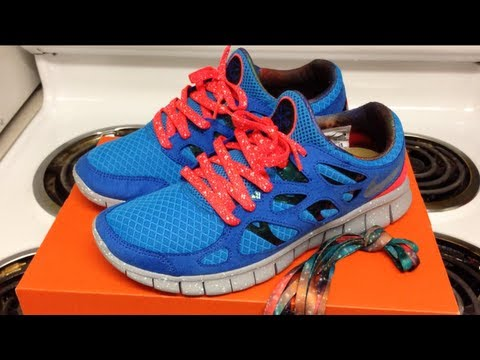 a93298314689 Marmatic28  Nike Free Run 2 DB Doernbecher - YouTube