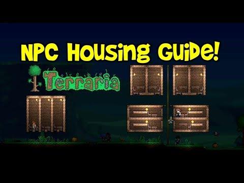 Terraria NPC House Design Tutorial (Ideas Guide & Requirements, Compact Hotel/Village Tips)