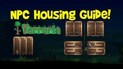 Terraria NPC House Design Tutorial (Ideas Guide & Requirements, Compact Hotel/Village Tips)