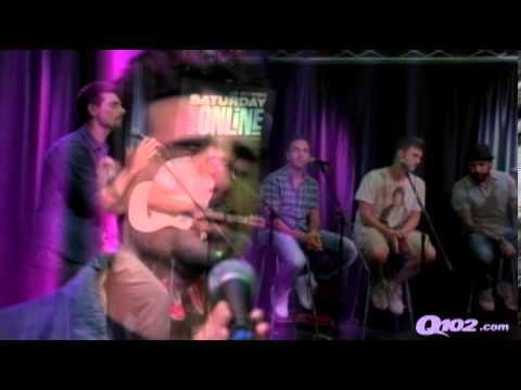 BSB canta Permanent Stain en Q102 - 24 Junio 2013