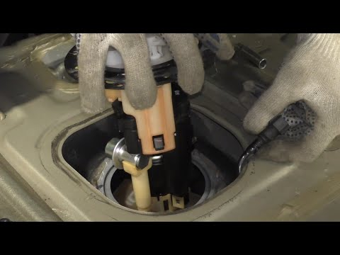 Hyundai Getz – How To Replace a Fuel Pump and Fuel Filter