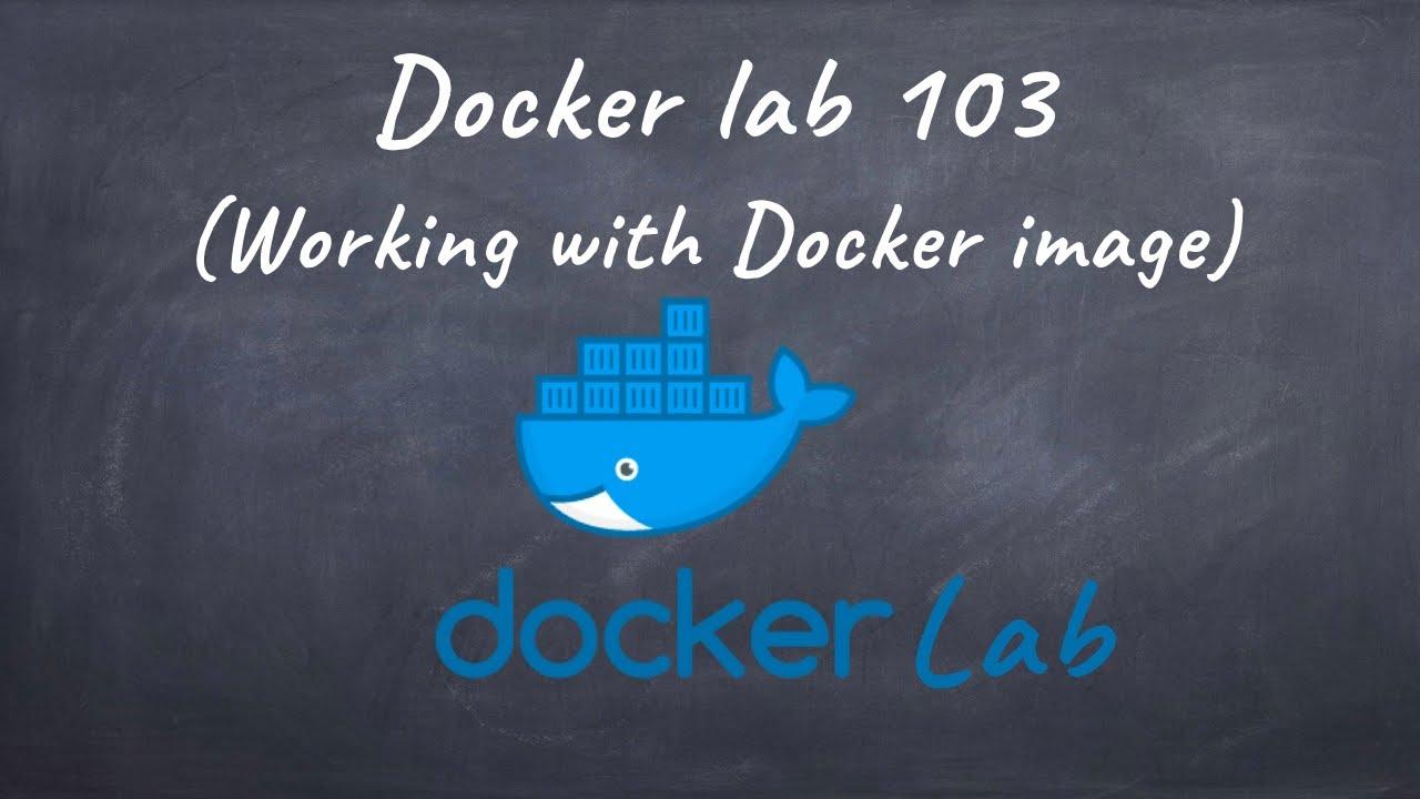 Free docker lab 103 (Working with Docker image)
