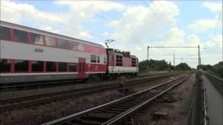 Slovakia Locomotive Train ZSSK263.009 Working at Nové Zámky Station, 21/Jun/2015 スロバキア鉄道動力車