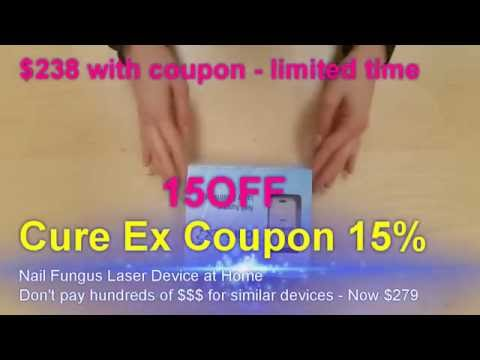 cure ex nail laser treatment - get yours at pain-relief-online.com