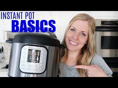 7 BASIC Instant Pot Recipes - Perfect for Beginners!