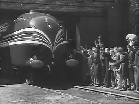 "Steam Trains - "" The Coronation Scot"" -  1937-  London Midland & Scottish Railway"