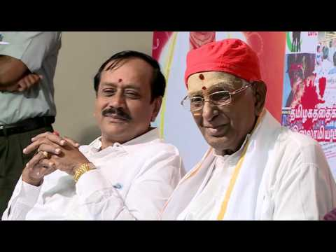 Sushil Pandit Speech on the occasion of Hindu Munnani DVD Release