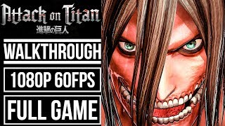 ATTACK ON TITAN WINGS OF FREEDOM Gameplay Walkthrough FULL GAME No Commentary [1080p 60fps]