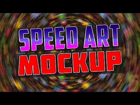 Speed Art #2 | Business Card Mokcup