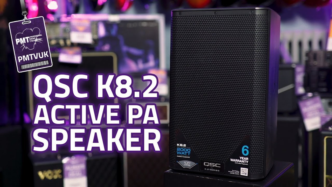 QSC K8 2 Active PA Loudspeaker - One of the Best Portable PA