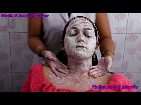 How To Do Facial At Home To Get Fairer And Glowing Skin - Step By Step Complete Process
