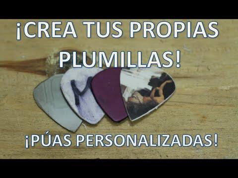 CREA TUS PROPIAS PLUMILLAS, PÚAS PARA GUITARRA - D.I.Y. *Magafivlogs*
