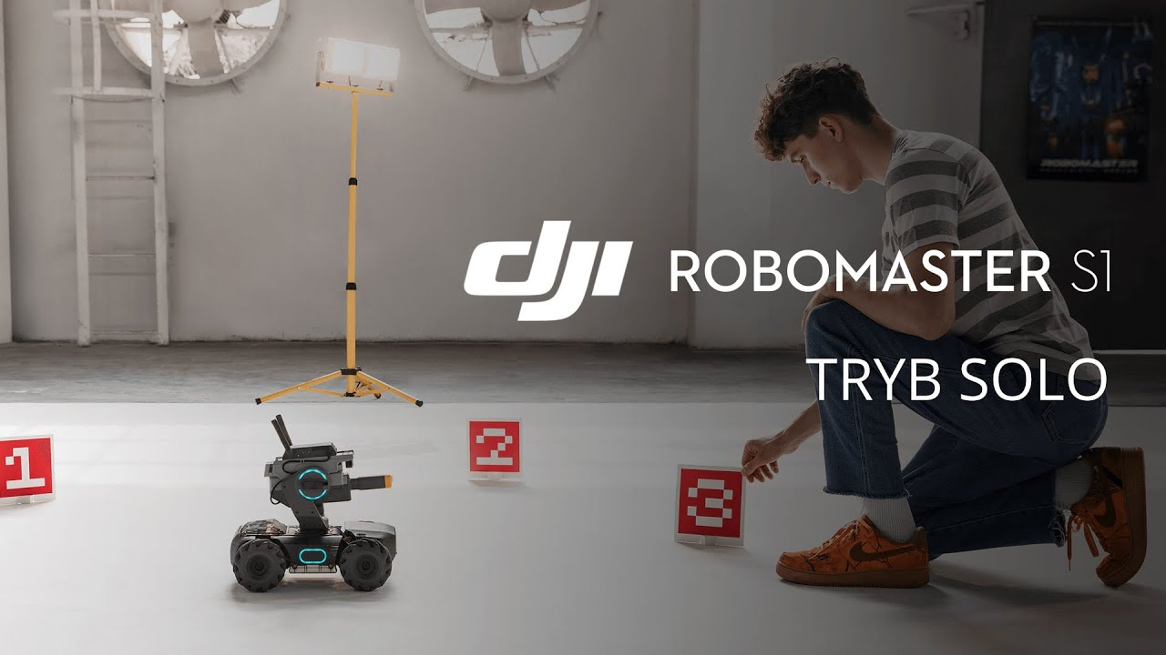 DJI RoboMaster S1 - Tryb Solo (PL) DJI ARS