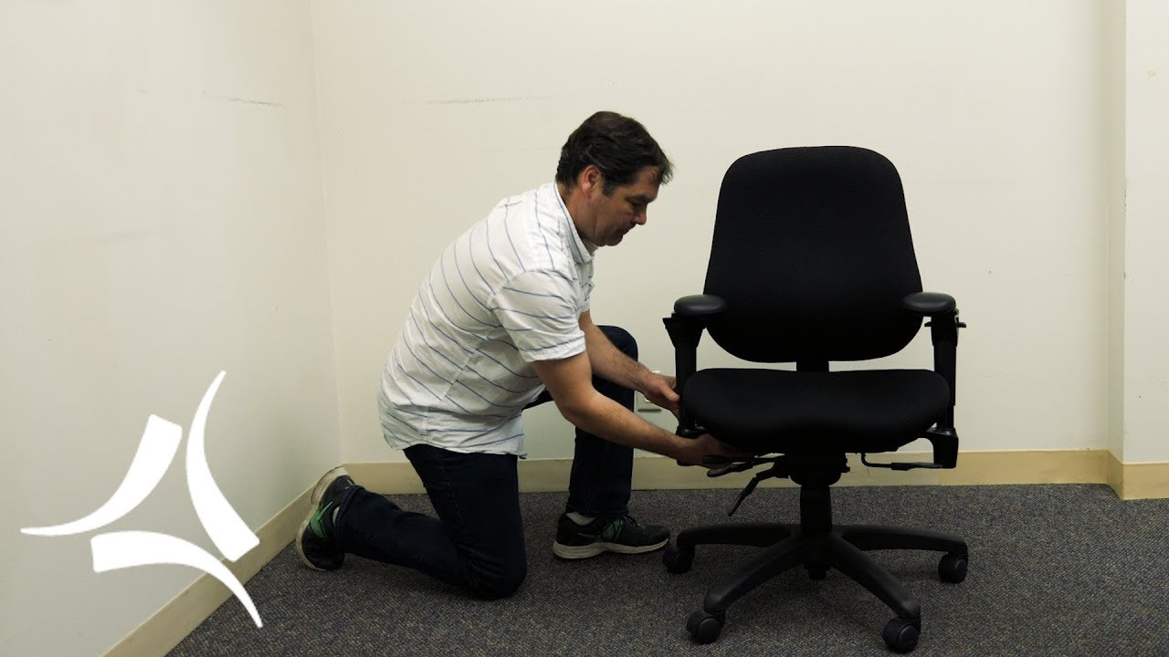 How To Adjust Office Chair How To Adjust An Ergonomics Office Chair