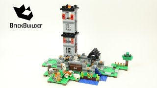 Lego Minecraft 21127 The Fortress B-model - Lego Speed Build