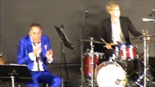 Rikard Wolff i Vitabergsparken 2015 08 30, Jazzgossen