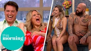 John Barrowman Is Left Flustered by Cast of Naked Beach | This Morning
