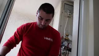 Профилактика на климатик + монтаж на ваничка | Vimax.bg
