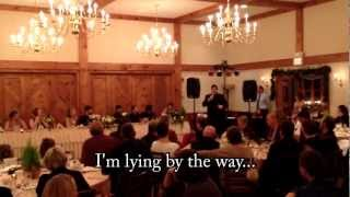 The BEST (worst) Wedding Toast EVER!