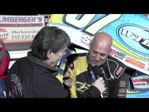 Williams Grove Speedway 410 Sprint Car Victory Lane 4-15-16