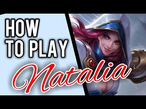 Natalia Guide For Beginners || Mobile Legends✔