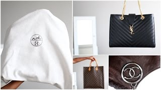 Handbag collection : mes grands sacs à main (Dior, Hermès,…) ▲ lepointJenn ▲