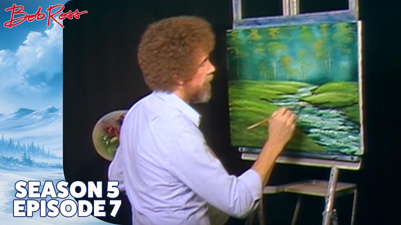 Download Bob Ross - Bubbling Brook (Season 5 Episode 7)