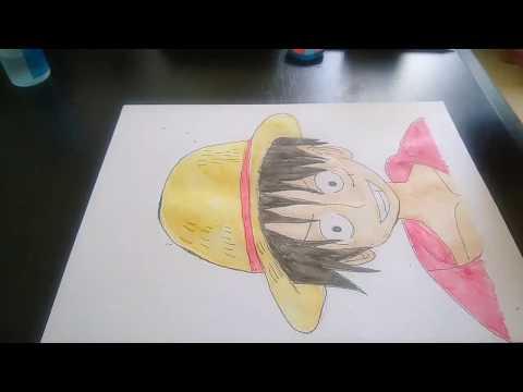 Draw Luffy Of One Piece HD