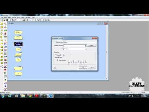 знакомлюсь с программой flowcode для микроконтроллеров avr