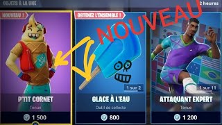 Fortnite: February 17th Shop, New SKINS P'tit Cornet !!!