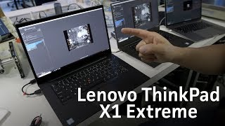 Lenovo ThinkPad X1 Extreme: The Dell XPS 15 killer?