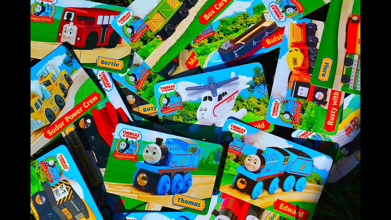 Thomas Wooden Railway Character Cards 60 Second Toy Train Review