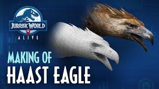 Jurassic World Alive | Making of Haast Eagle