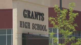 Los Alamitos Middle School, Grants High closed Friday after school threat