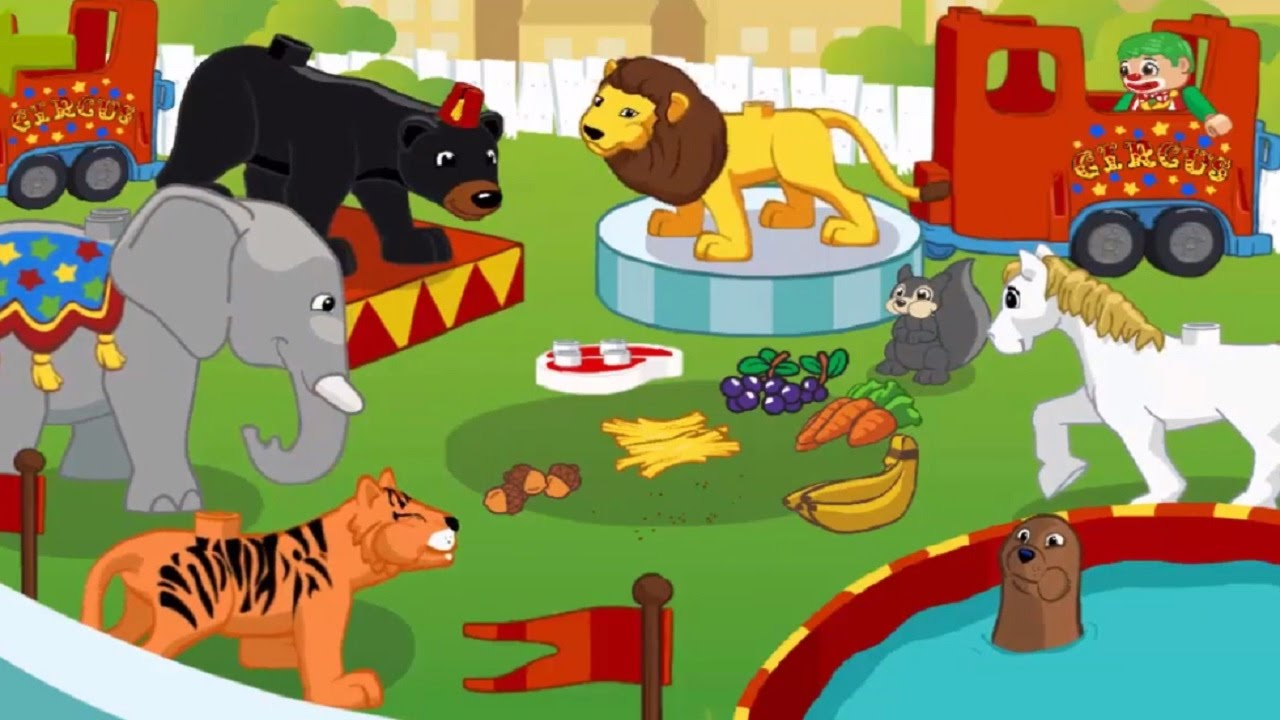 El circo de lego duplo para ni os videos infantiles - Para ninos infantiles ...