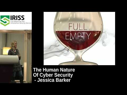 IRISSCON 2017 The human nature of cyber security by Jessica Barker