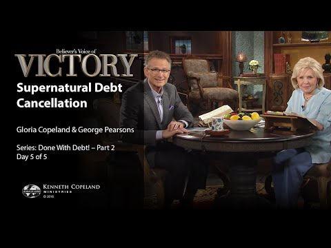 Supernatural Debt Cancellation with Gloria Copeland and George Pearsons (Air Date 9-2-16)