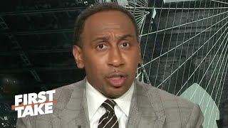 Stephen A. sounds off on the NBA players coalition's call to action   First Take