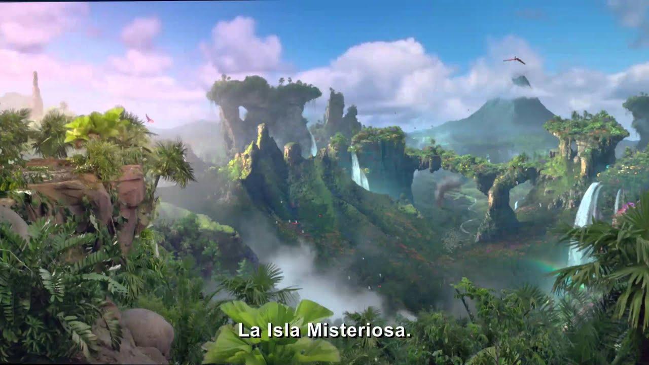viaje la isla misteriosa primer trailer subtitlado en espanol youtube