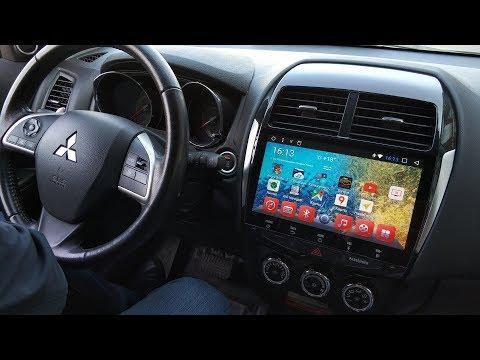 Штатная Android-магнитола в Mitsubishi ASX