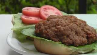 """meaty"" Vegan Burger"